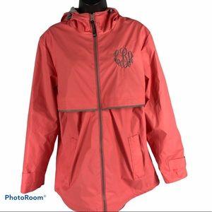 Charles River Apparel Women's Rain Jacket Size L